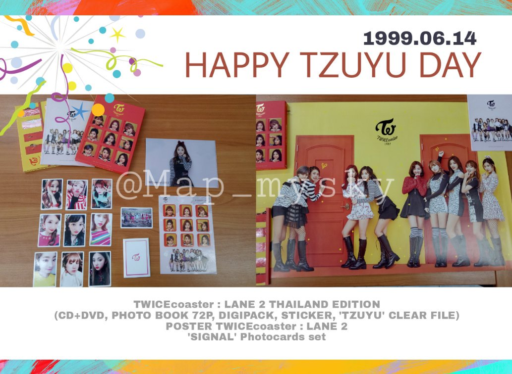 Map ии tzu 🌱's photo on #HappyTzuyuDay