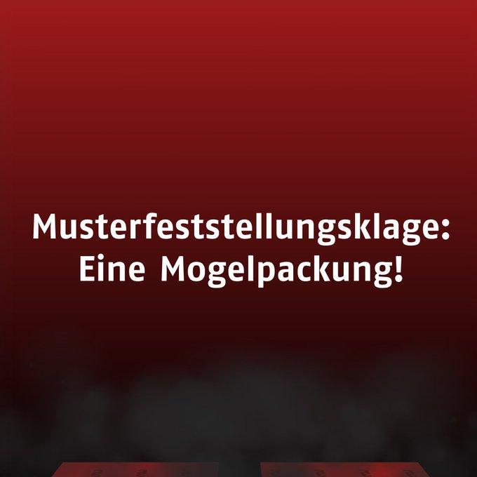 #Musterfeststellungsklage Foto