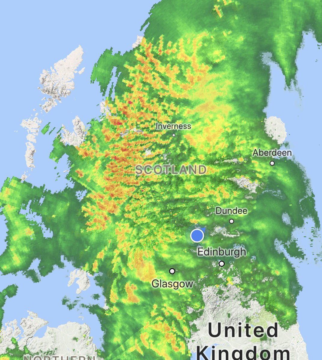 Today's rain is tomorrow's #Whisky #StormHector is coming soon, this is just yer starter