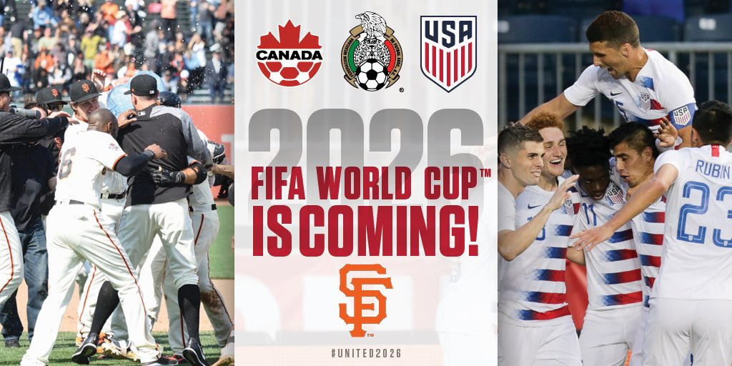 San Francisco Giants's photo on 2026 World Cup