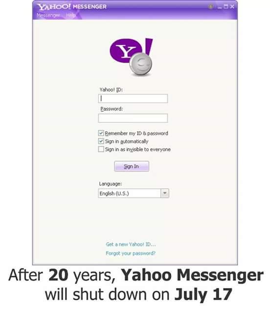 Yahoocom messanger