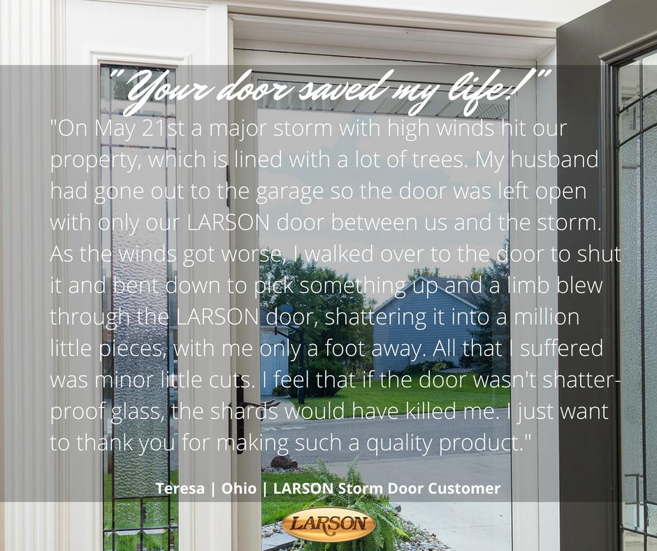 Larson storm doors larsondoors twitter for Scenix porch windows