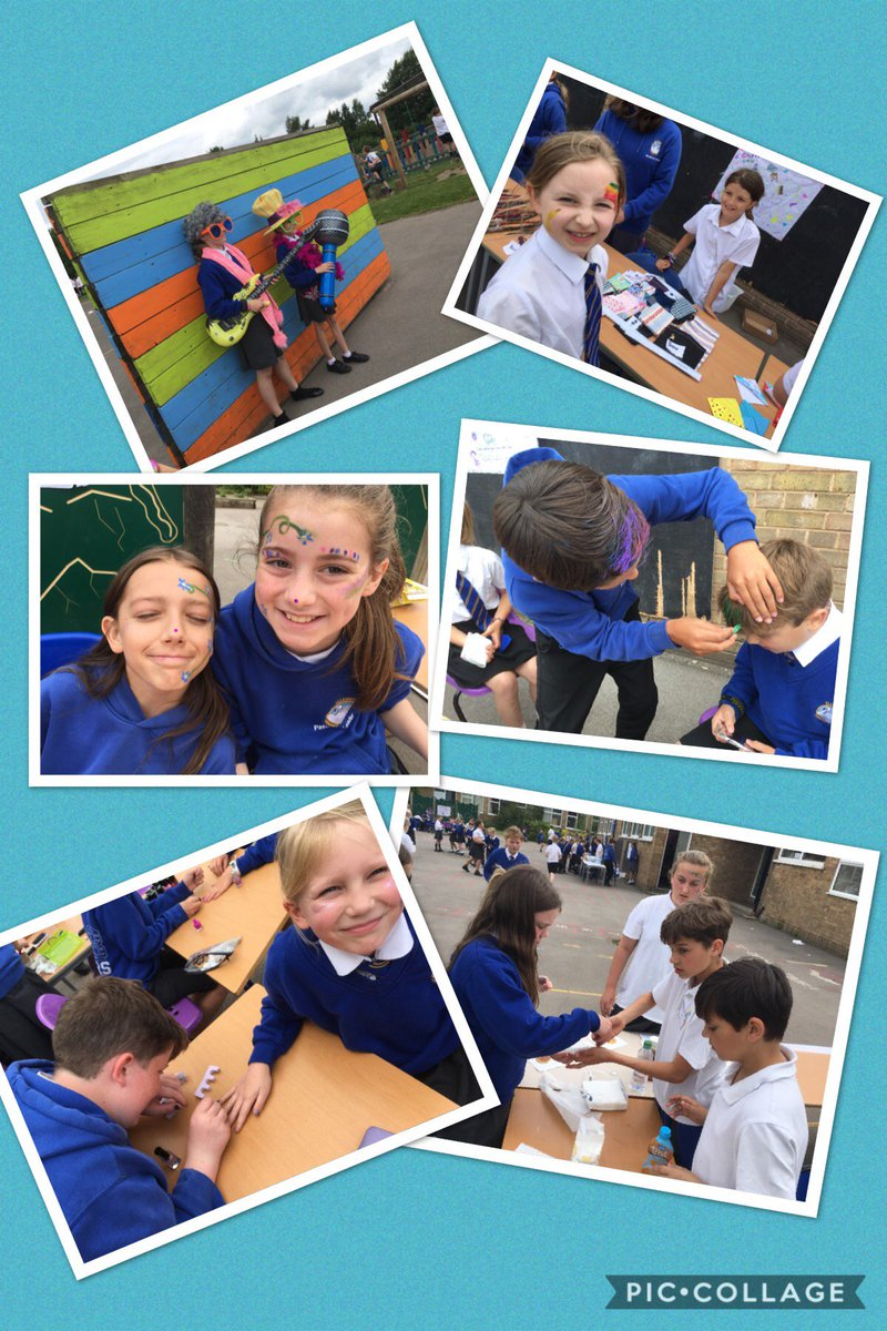 Year 6 have had tremendous success in their enterprise week. Faces and nails have been painted, tummies have been filled! The handmade crafts have been very popular!