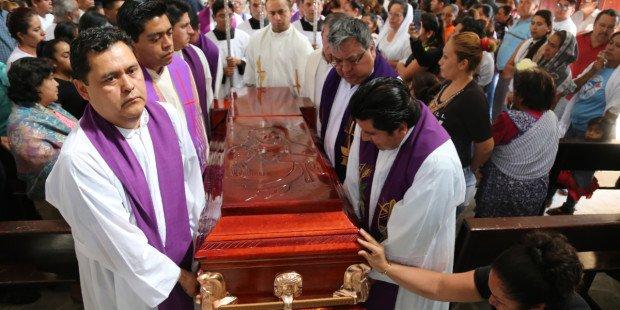 Séminaristes, ils se préparent à exercer dans les paroisses les plus dangereuses du Mexique Photo
