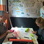 Then it's time to act : each team create its own prototype