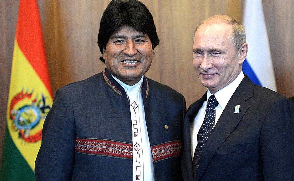 Rusya ve Bolivya, küresel ekonomideki tehditlere birlikte karşı koyacak