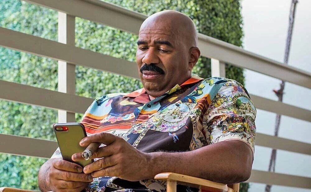 What text could make you look at your phone like this?