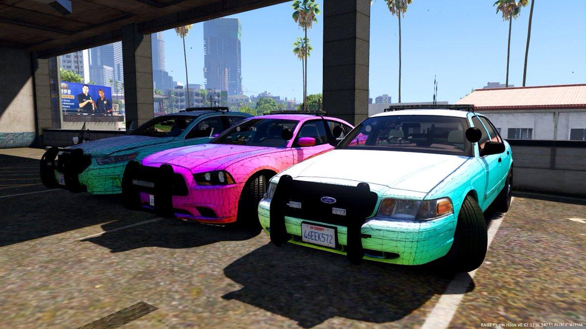 Lspd Vehicles
