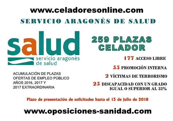 EL SERVICIO ARAGONÉS DE SALUD CONVOCA 259 PLAZAS DE LA CATEGORÍA DE CELADOR DfliNw9XUAIIU3j