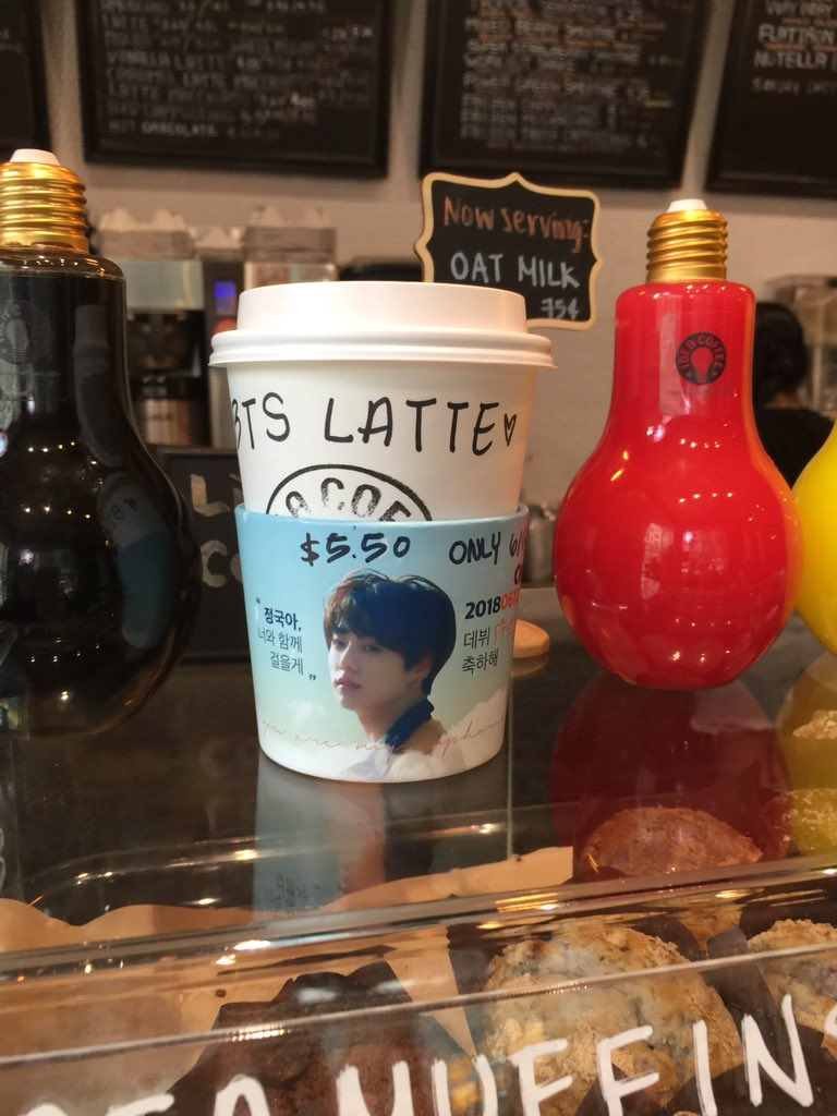 Need coffee after staying up for the #BTSxCorden performance & waking up early for #BTSPROMPARTY  Happy 5th Anniversary @BTS_twt   Thanks @seprosie901 @SeptemberRosie @firstsight_jk for making this project possible! Grab yours at Idea Coffee NYC today before they run out <br>http://pic.twitter.com/dPduIONWwl