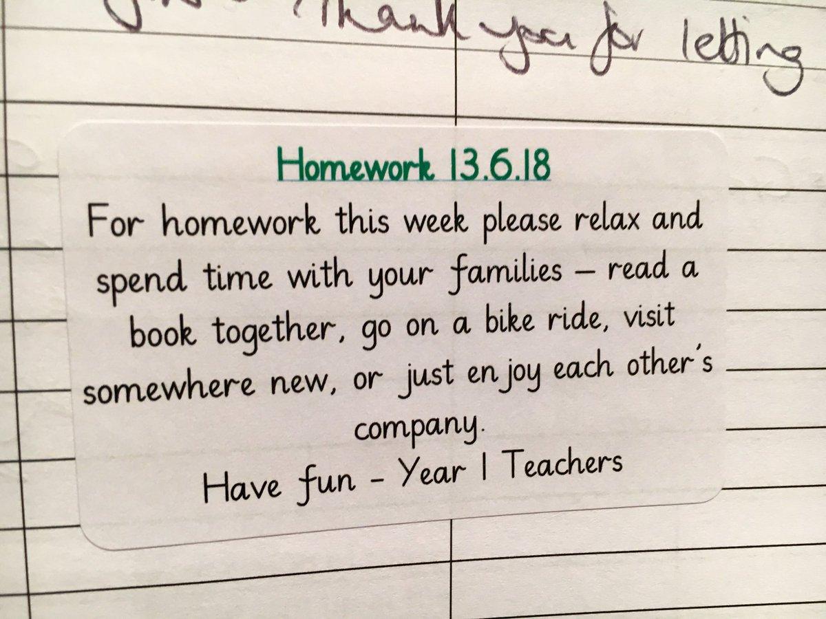 homework year 1