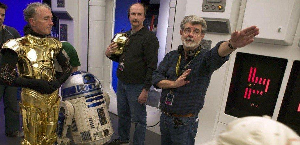 Peter Sciretta's photo on George Lucas