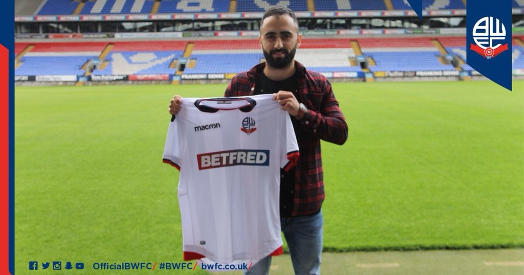 Delighted to have signed for @OfficialBWFC cant wait to meet up with the boy and get started!