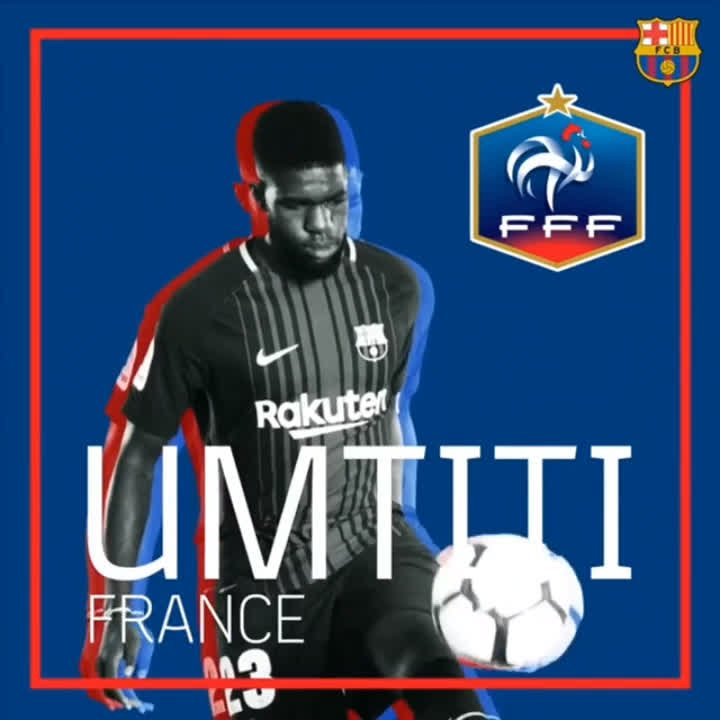 �� #BarçaWorldCup ���� @samumtiti and @Dembouz are going for #WorldCup glory with @equipedefrance! https://t.co/Kir0owa8jM