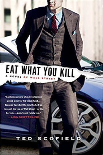 Eat What You Kill, Ted Scofield (M, 30s, University of Georgia golf shirt, eating breakfast with two kids, Crowne Plaza Times Square)