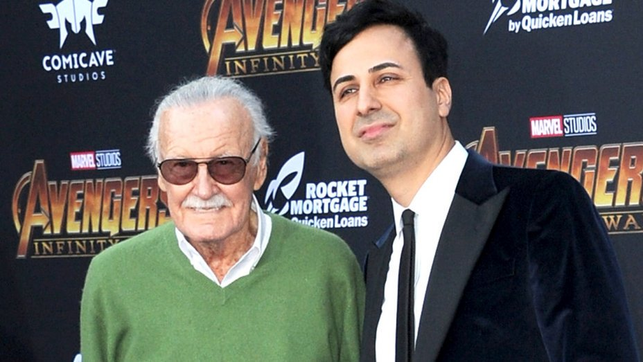 Ryan Parker's photo on Stan Lee
