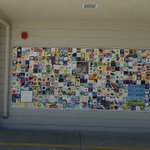 Image for the Tweet beginning: Stoddard Anniversary Tile wall is
