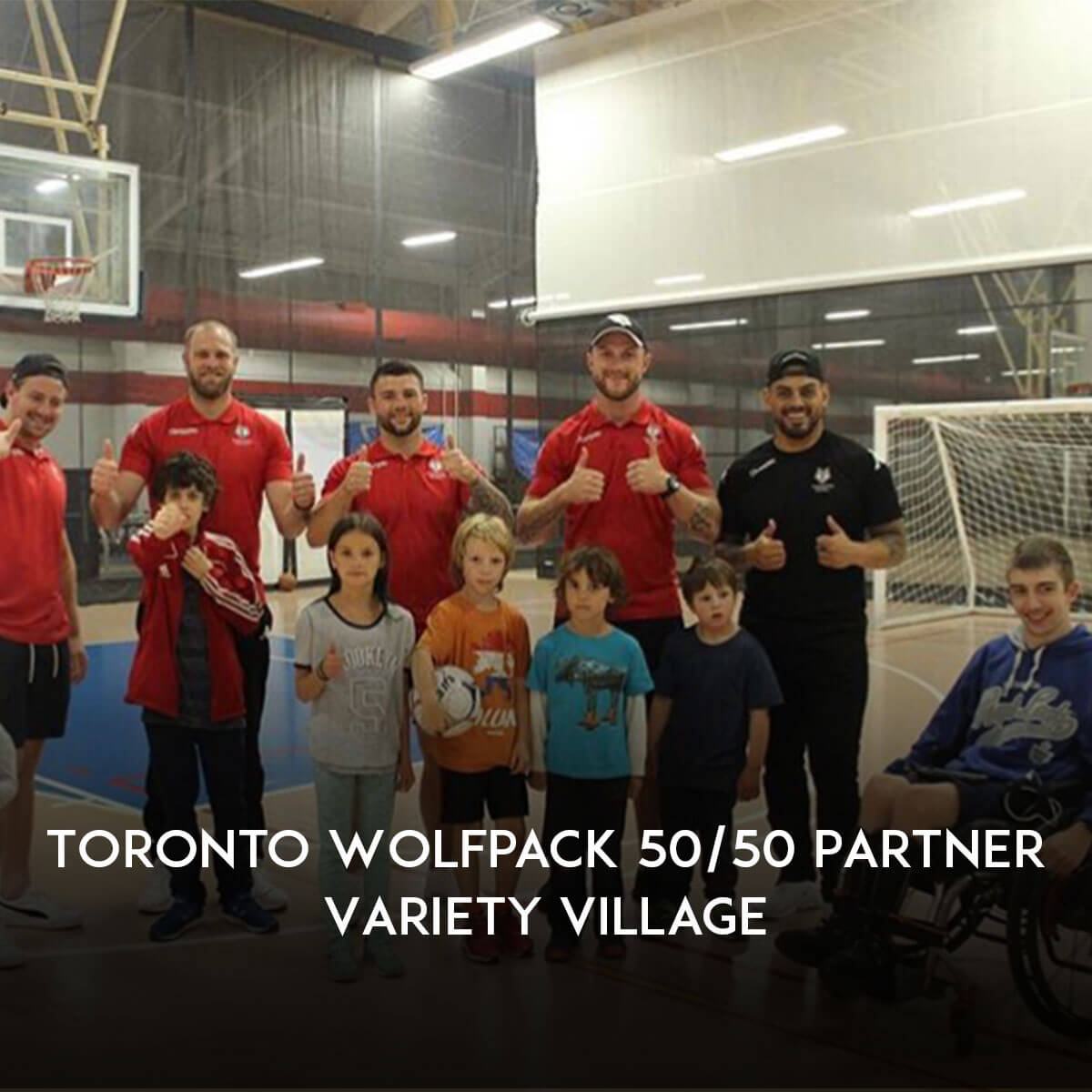 After establishing a successful partnership in 2017, Toronto Wolfpack are proud to announce a continued 50/50 raffle draw at Lamport Stadium to support @VarietyVillage - the Children's Charity of Ontario.  More information   http:// bit.ly/2HMPi9R    <br>http://pic.twitter.com/E4tz9lGzXd