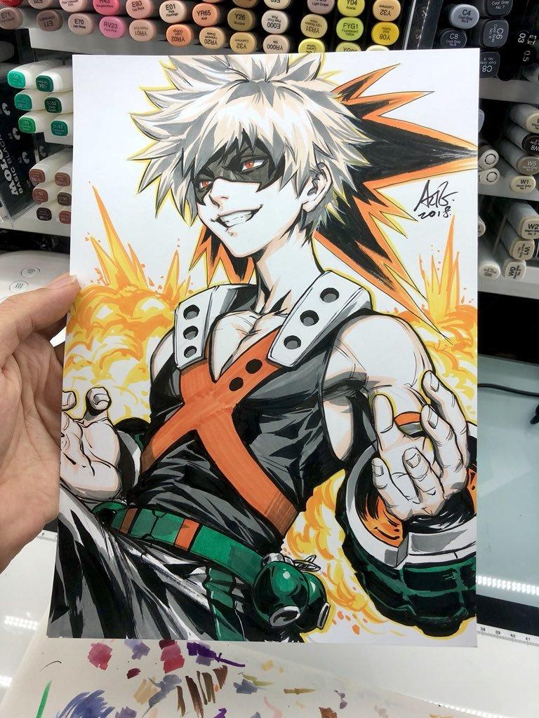 Anime Art On Twitter Boku No Hero Academia By Artgerm