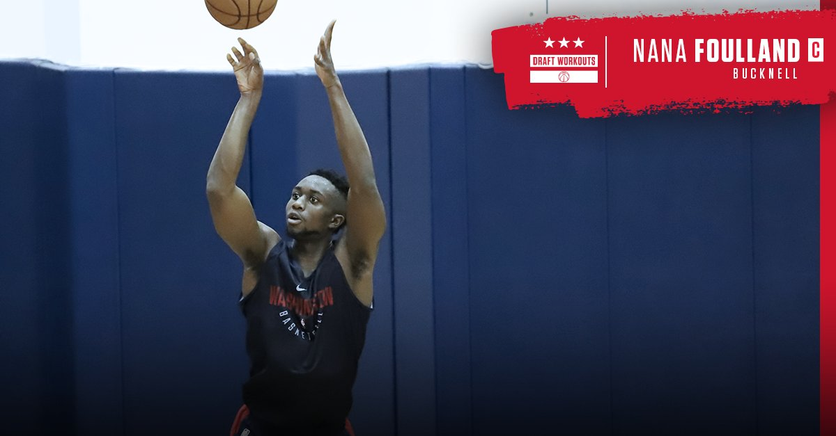 From @Bucknell_MBB at todays #WizDraft Workouts... @GraciousTaco! #DCFamily