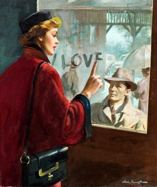 Love by Arthur Sarnoff #art