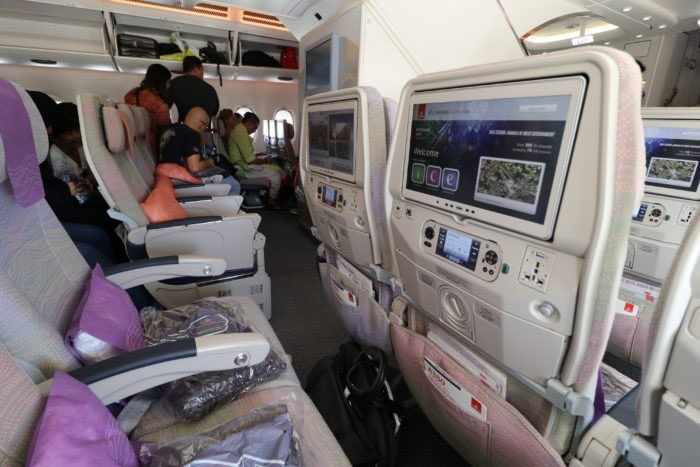 Emirates offers VR 360 view of cabin when reserving seats