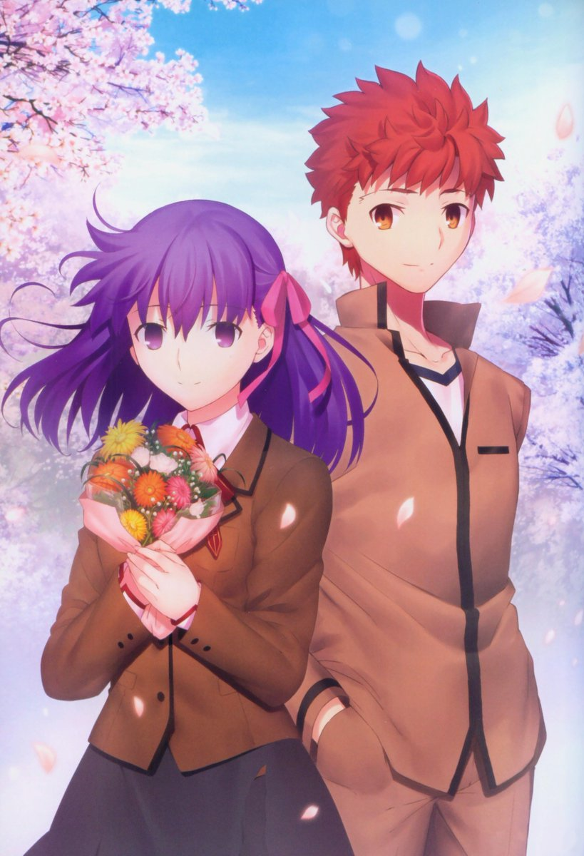 Zerods On Twitter Fate Stay Night Heaven S Feel I Presage Flower Bd Illustrations