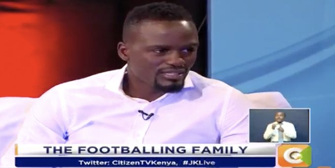 Jeff Koinange: Have you ever faced racism? McDonald Mariga: It has changed over the years…but they still whistle when you get the ball. You have to stay strong #JKLive Photo