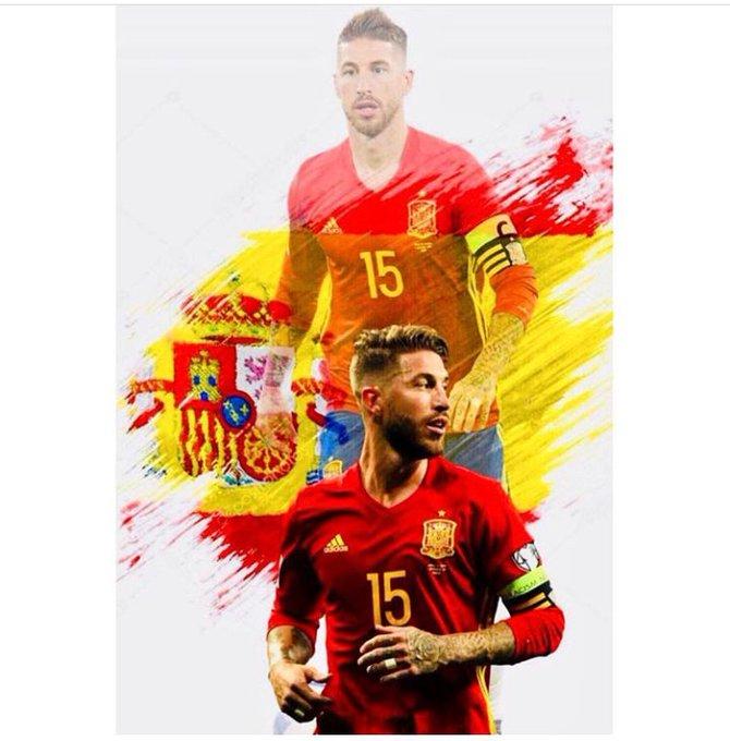 Senciyiz senci Başarılar İspanya. 🇪🇸🇪🇸🇪🇸 #WorldCupRussia2018 Photo