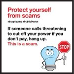 THREE different #SNEW customers reported being contacted today by imposter #utility employees with a demand for payment. Stay vigilant and continue to contact us and @NorwalkCtPD when needed. #stopscams #publicpower