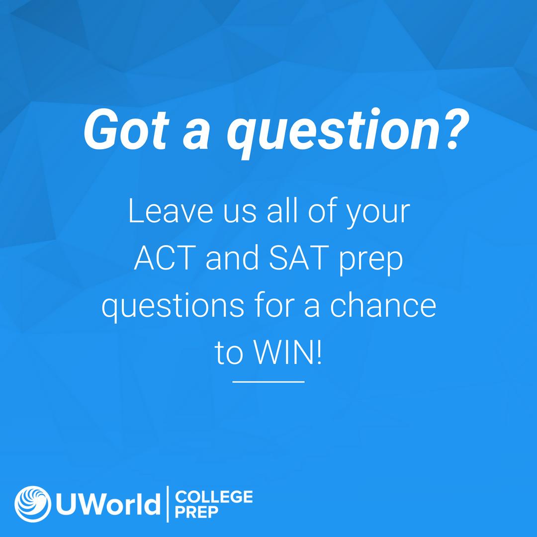 UWorld College Prep on Twitter: