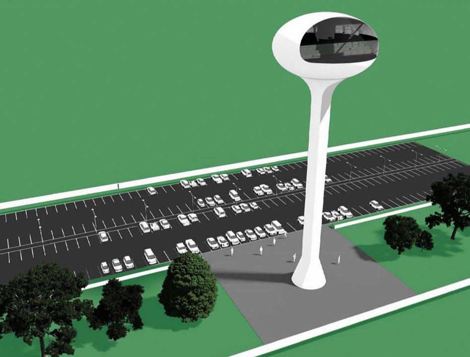 NASAとSpaceXが思い描くUFO型管制塔と博物館「ロケット・ガーデン」 #サイエンス #宇宙 https://t.co/J7sX3ghALS