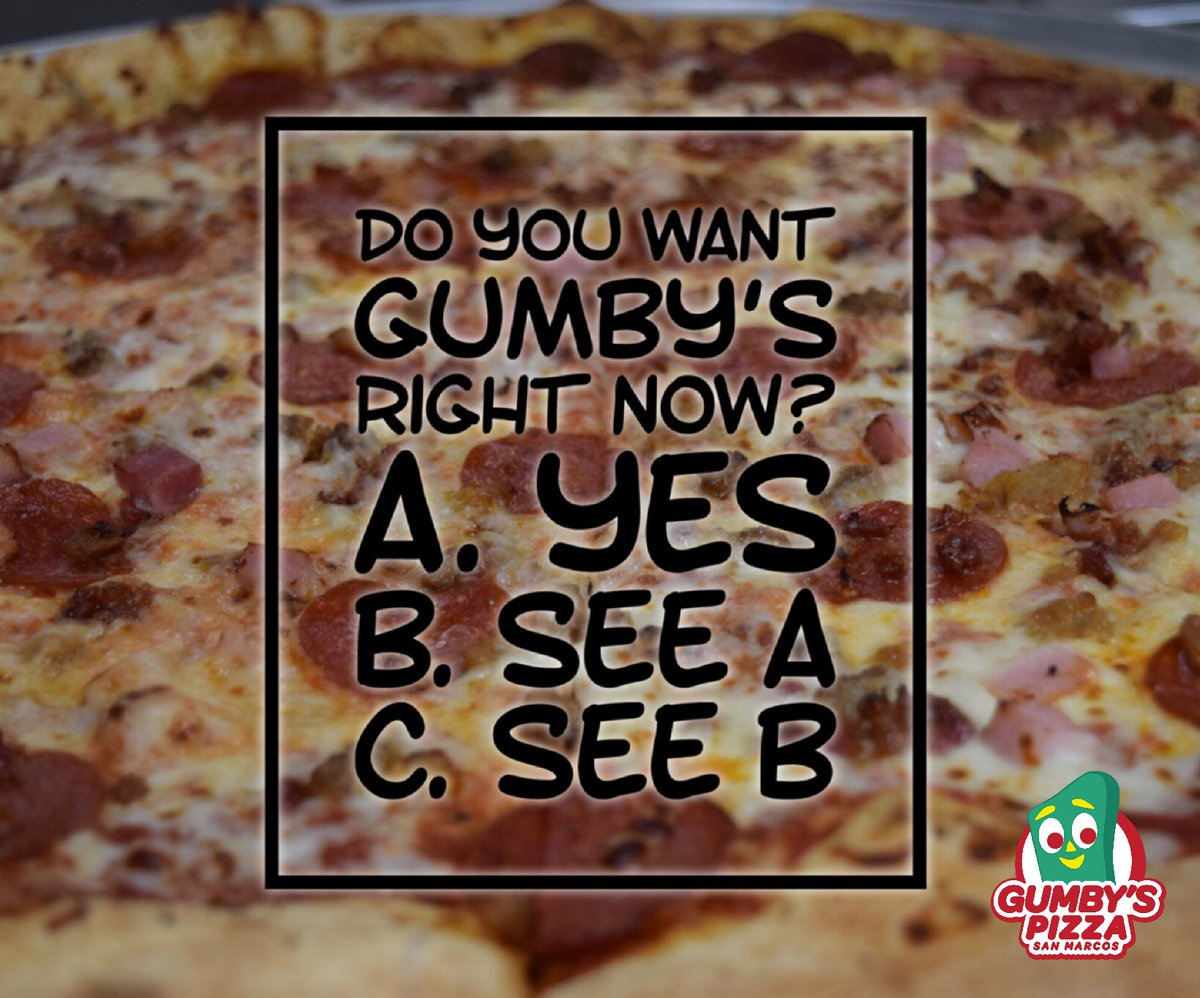 Gumby's San Marcos on Twitter: