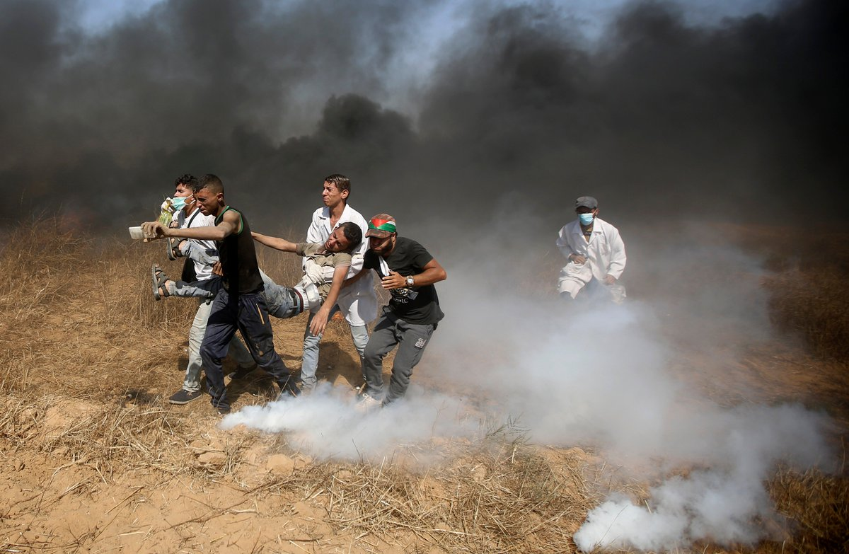 BREAKING: The UN General Assembly voted to condemn Israel for excessive use of force against Palestinian civilians, in a vote of 120 in favor and 8 against.   120+ Palestinians have been killed by Israeli forces in Gaza since March.