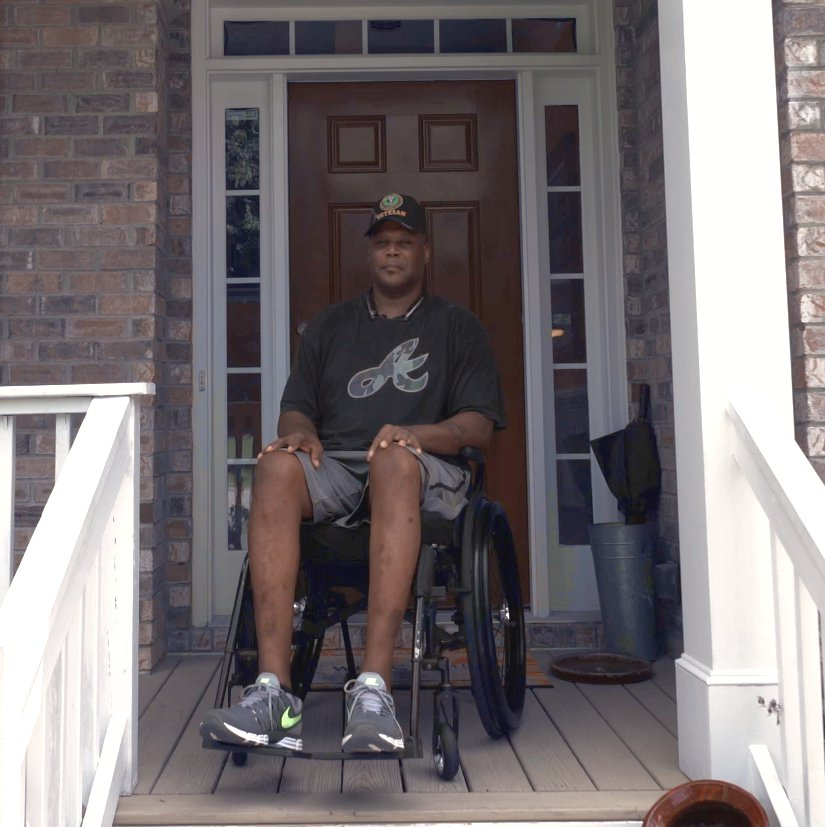 Meet Jerry, a disabled veteran trying to regain his mobility. Witness his journey unfold in the new DDPY series, We Can Rebuild You. I dont know yet whats going to happen but hes putting in the work each week to make it happen. bit.ly/2MpLPSs #WeCanRebuildYou