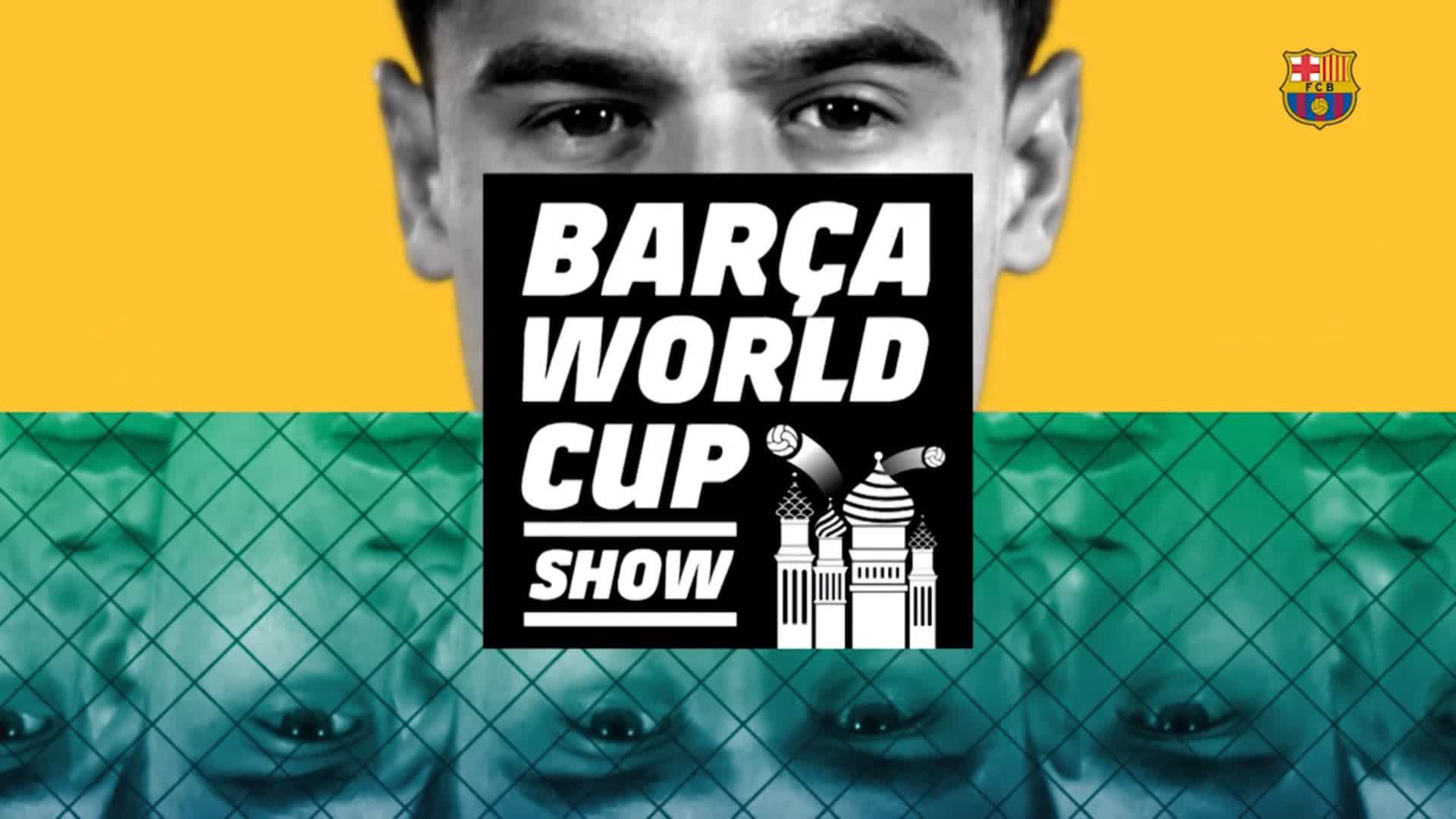 �� A group-by-group guide to our #WorldCup stars, courtesy of the #BarçaWorld Cup Show! https://t.co/RSER2lfrM8