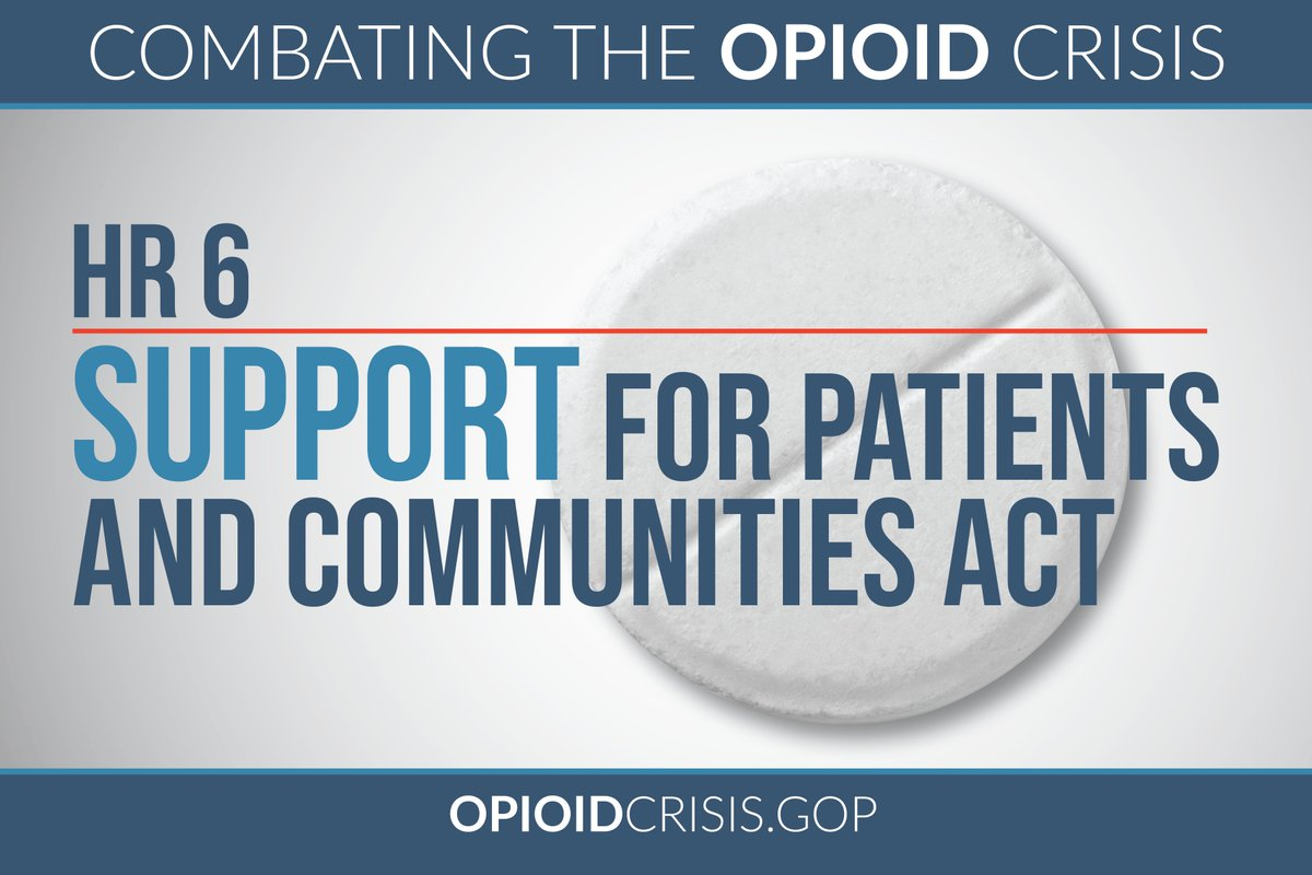 ... Combat The #opioidcrisis Https://energycommerce.house.gov/news/press Release/walden Brady Pallone And Neal Introduce H R 6 To Combat The Opioid Crisis/  ...