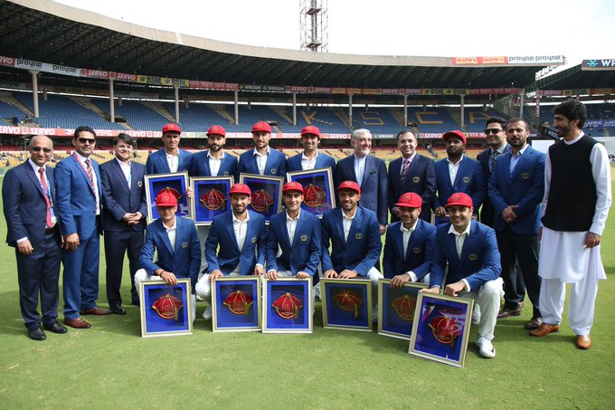 Welcome to the club @ACBofficials! 1️⃣ 🏴 2️⃣ 🇦🇺 3️⃣ 🇿🇦 4️⃣ 🌴 5️⃣ 🇳🇿 6️⃣ 🇮🇳 7️⃣ 🇵🇰 8️⃣ 🇱🇰 9️⃣ 🇿🇼 🔟 🇧🇩 1️⃣1️⃣ 🍀 1️⃣2️⃣ 🇦🇫 #INDvAFG Photo