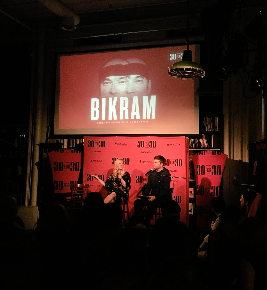 .@30for30 in the house for the launch of their season three miniseries on #Bikram