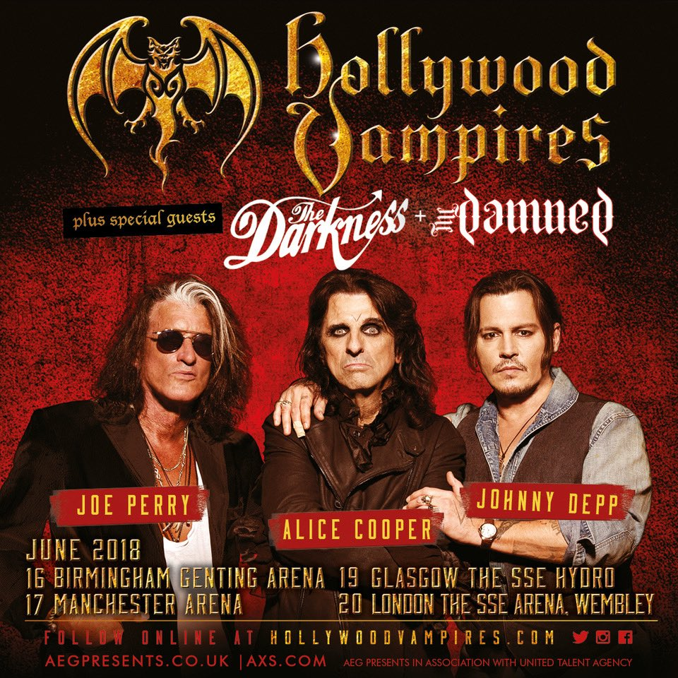 hollywood vampires hollywoodvamps twitter. Black Bedroom Furniture Sets. Home Design Ideas