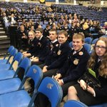 Image for the Tweet beginning: Having a blast at State