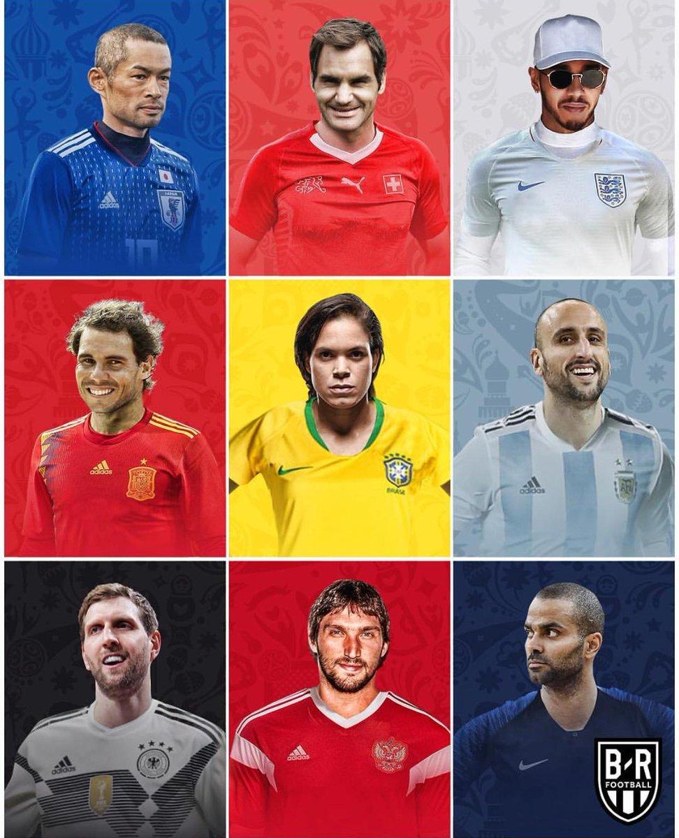 Lines have been drawn. Time to show your allegiance. (Via @BleacherReport) #WorldCup