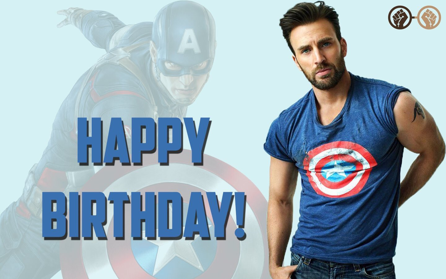 Happy birthday to Captain America himself, Chris Evans! The talented star turns 37 today. We wish him all the best!