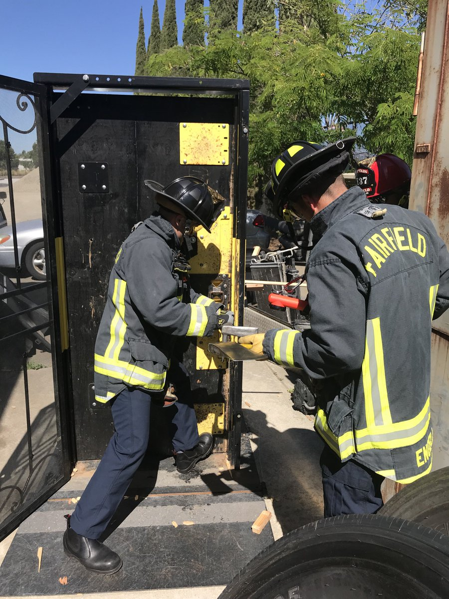 Fairfield Fire Dept On Twitter Today Engine 37 Trained And