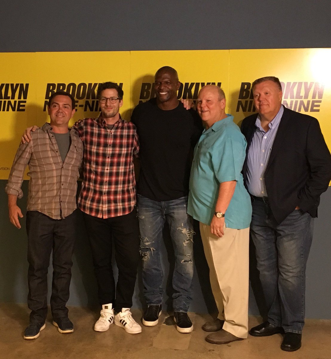 NINE-NINE! We're here for the #Brooklyn99 panel at #UTVFYC.🚨