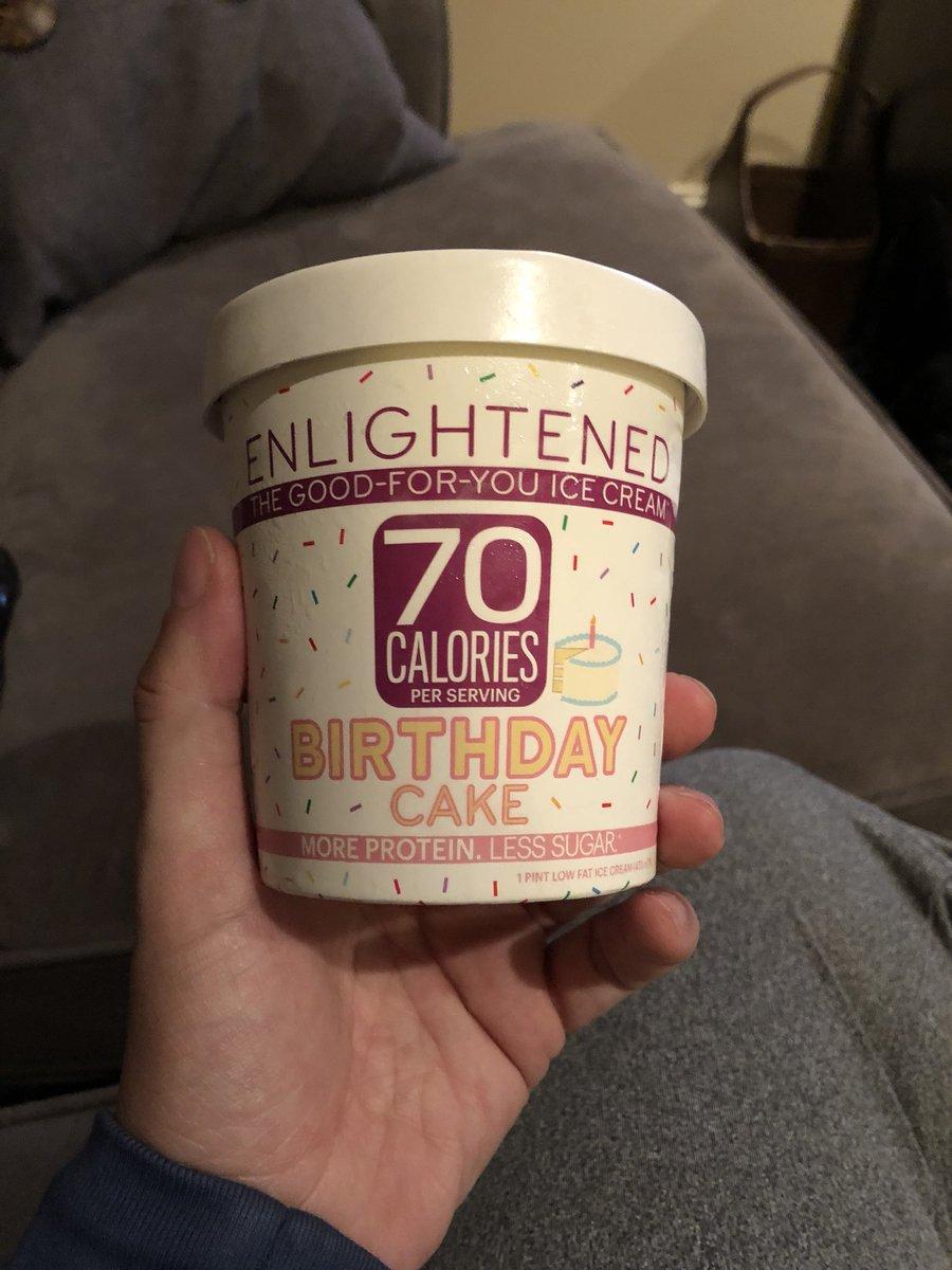 Jay Den On Twitter Best Ice Cream Ever ENLIGHTENED Birthdaycake