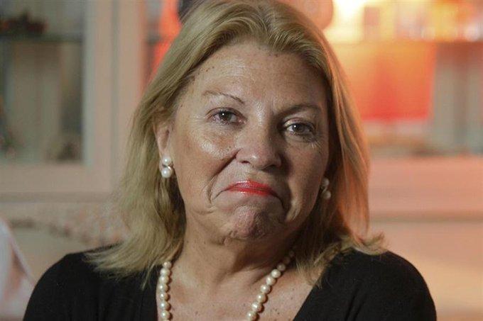 Aborto: en medio del debate en el Congreso, Elisa Carrió se refugió en una capilla para rezar Foto
