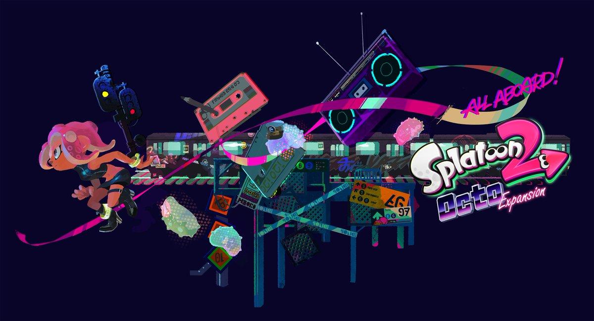 Splatoon 2 Octo Expansion Subway Map.Nintendo Of America S Tweet All Aboard The Splatoon2 Octo