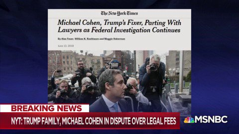 MSNBC's photo on Michael Cohen