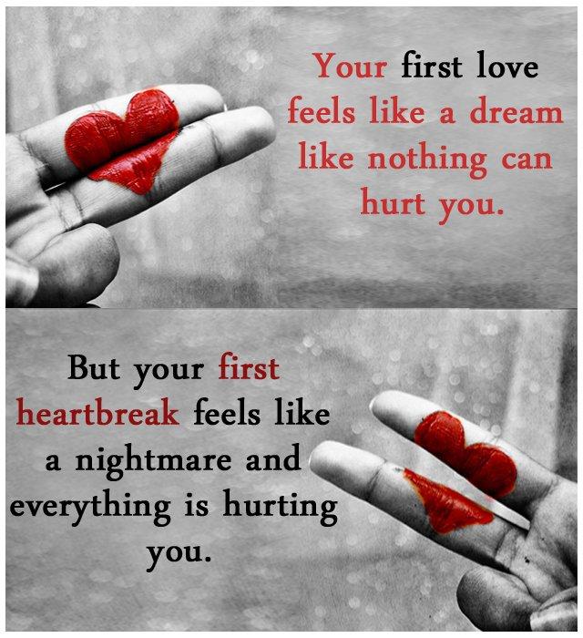 what heartbreak feels like